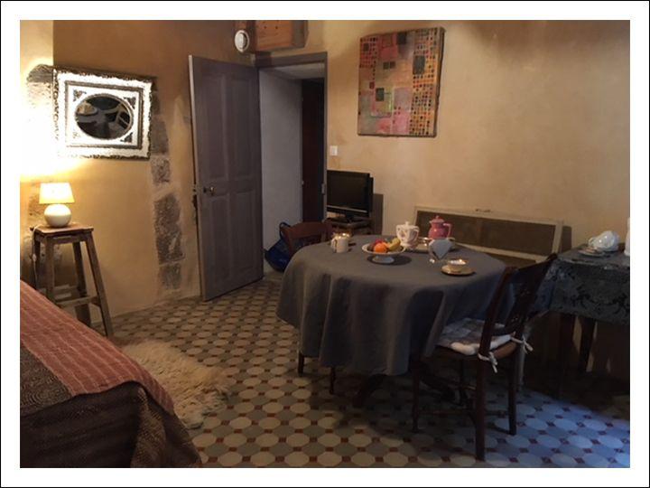 chambre d\'hôtes avec salon